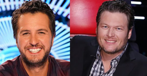 Luke Bryan Blake Shelton on American Idol and The Voice