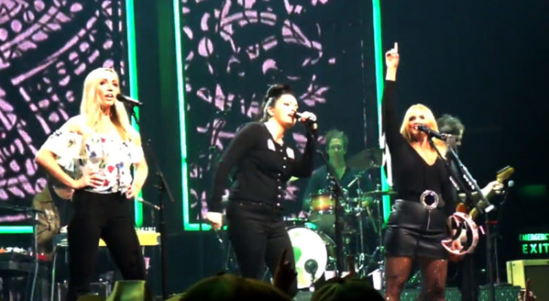 Pistol Annies reunited on stage during Livin' Like Hippies Tour