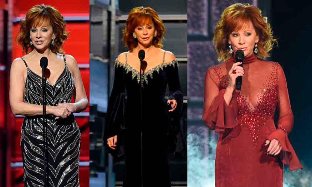 Reb Mcentire outfits during acm awards