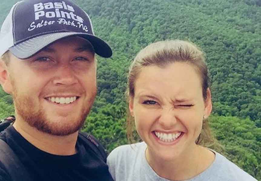 Scotty McCreery with fiancée Gabi Dugal