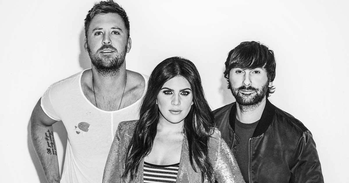 Lady Antebellum pandora party