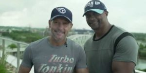 Tim Mcgraw Eddie George welcome NFL Draft