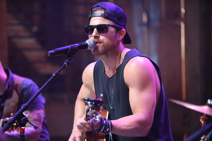 Kip Moore HGTV Lodge CMA FEST performances