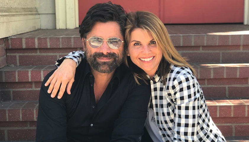 lori loughlin shared the cutest pictures with john stamos at the