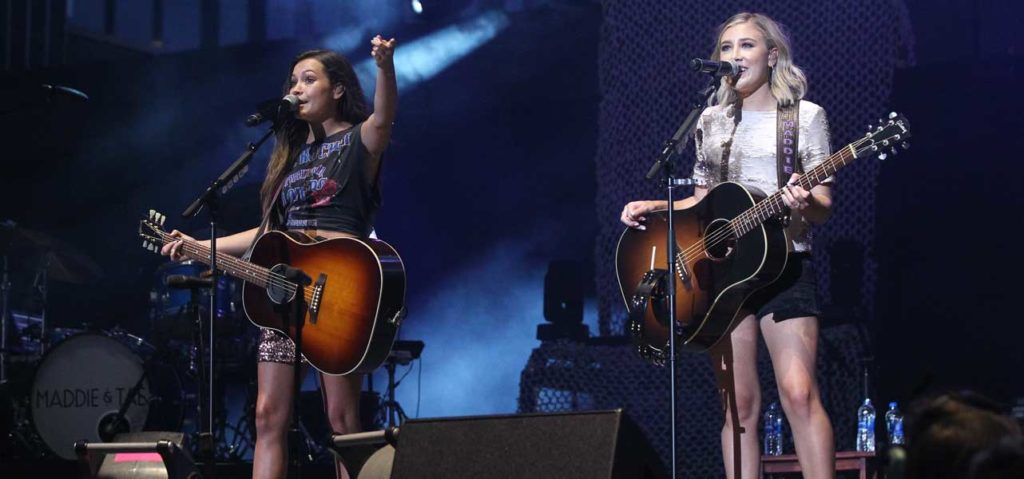 Maddie & Tae perform Ascend Amphitheater
