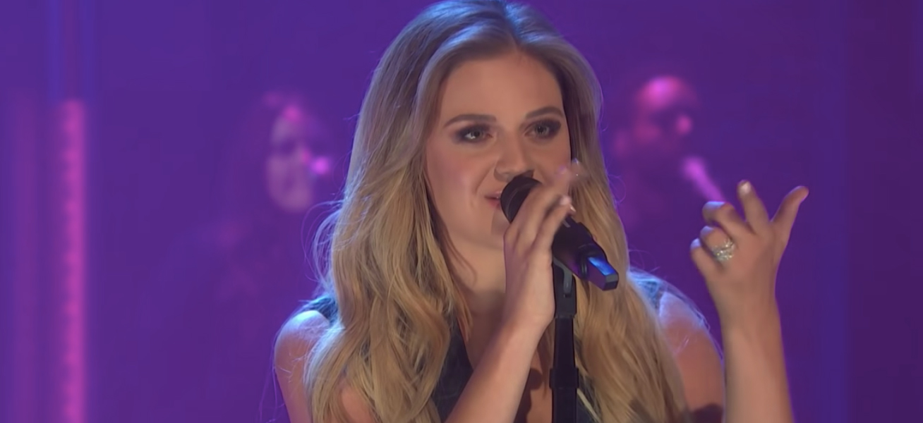 Kelsea Ballerini performing late night