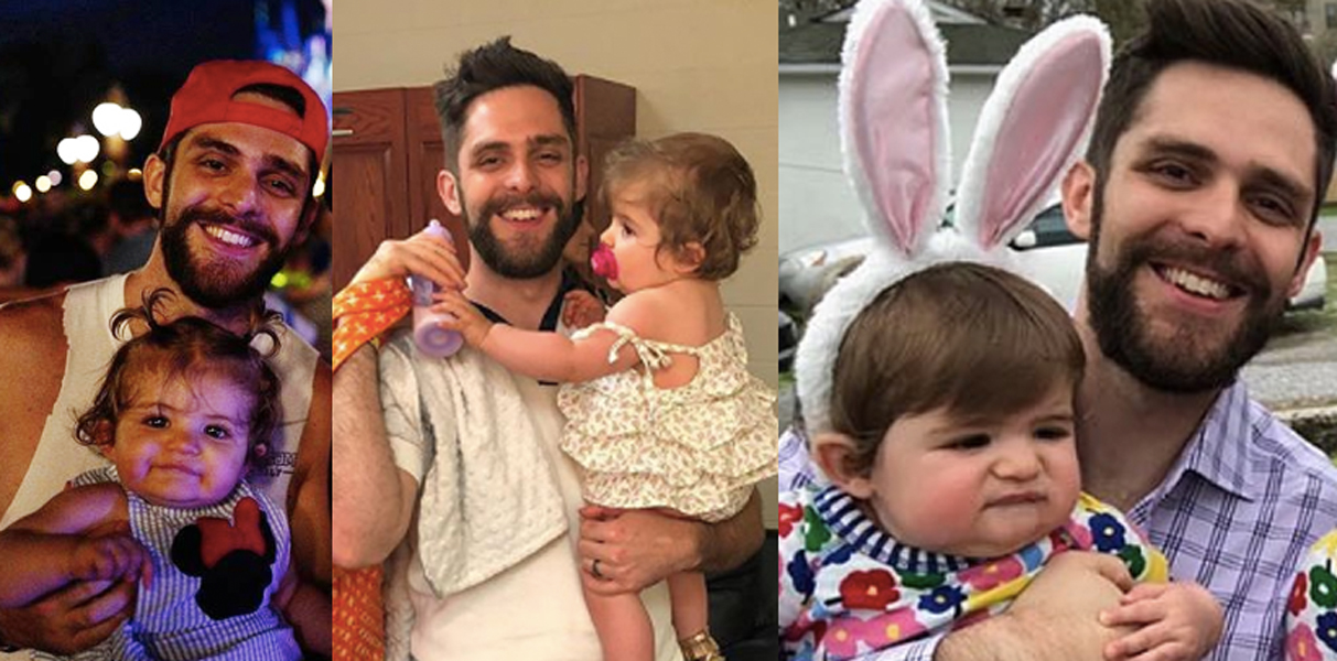 Thomas Rhett and daughter