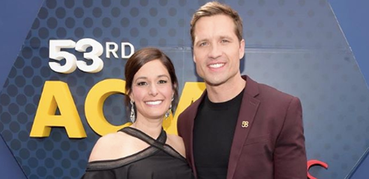 Walker Hayes and wife
