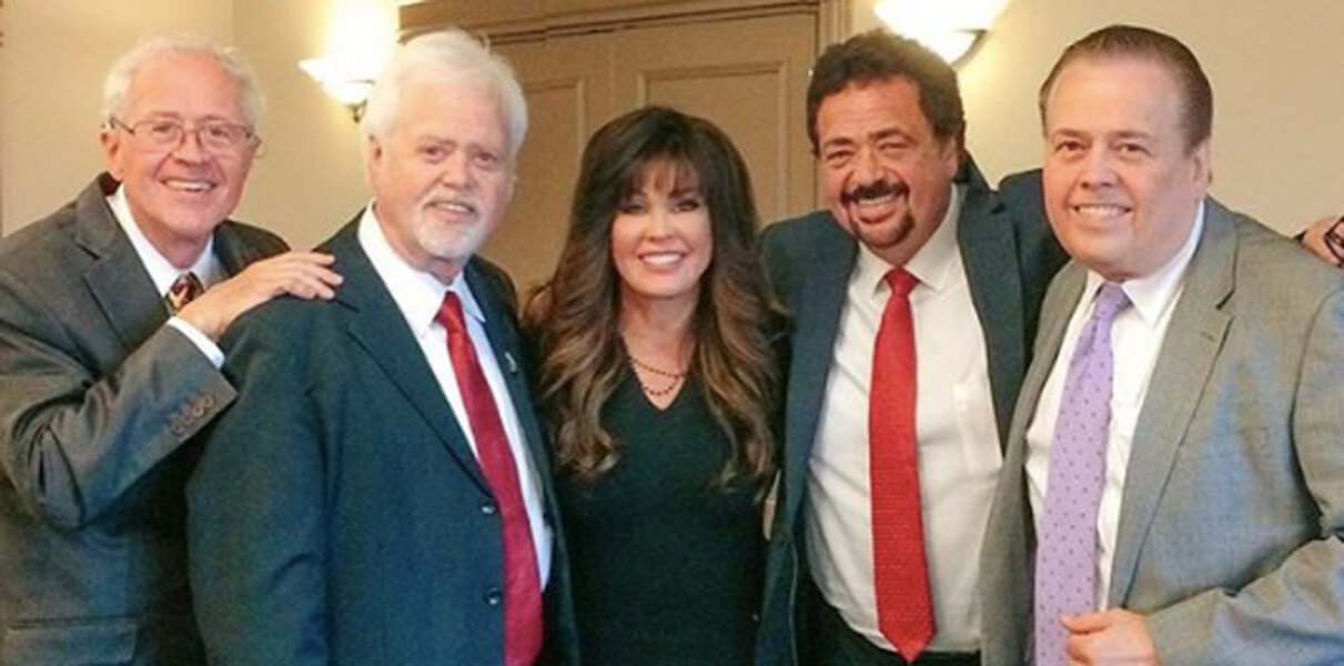Marie Osmond and brothers