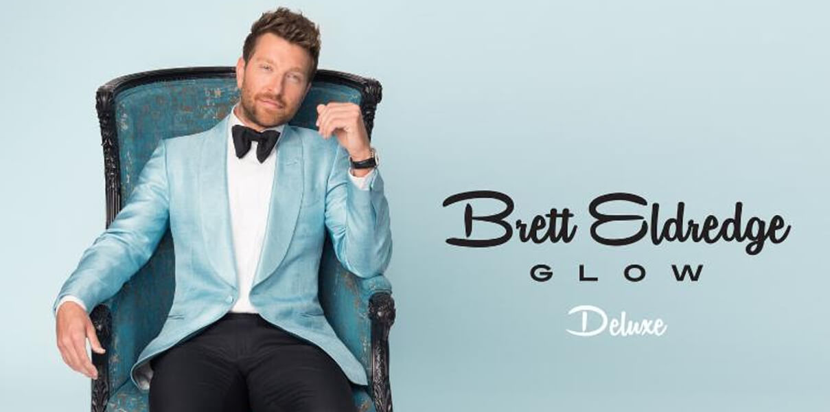 Brett Eldredge Glow Deluxe album cover