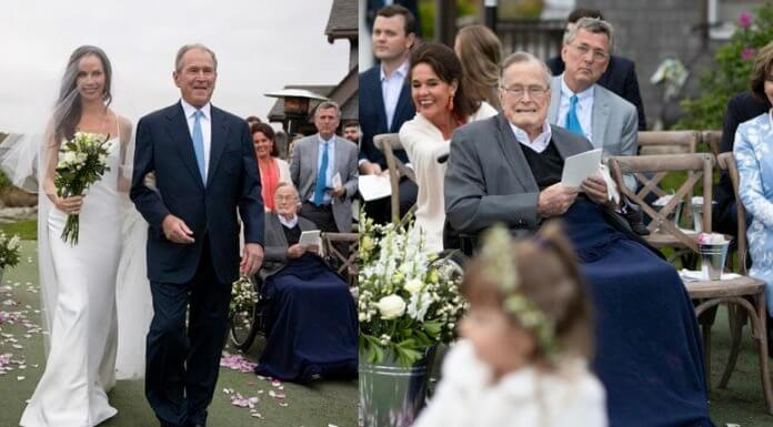 Jeb Bush wasn't invited to Barbara's surprise wedding