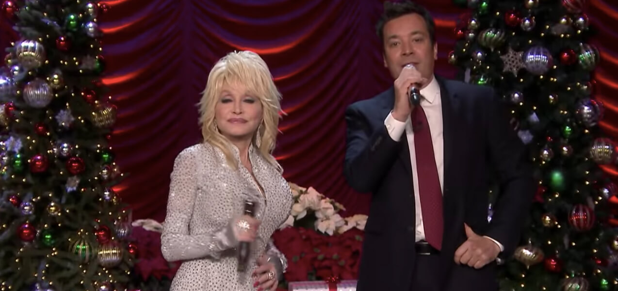 Dolly Parton Jimmy Fallon Christmas Medley