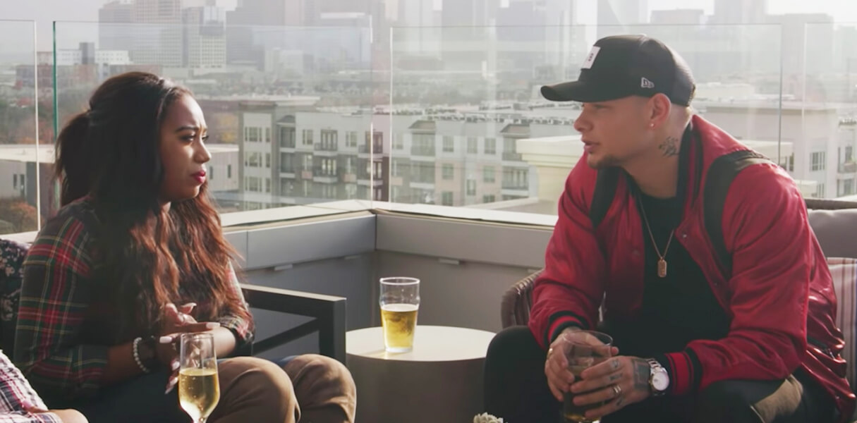 Kane Brown calls fan on stage
