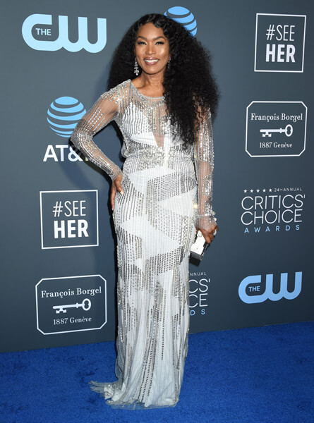 Angela Bassett Red Carpet Critics Choice awards fashion