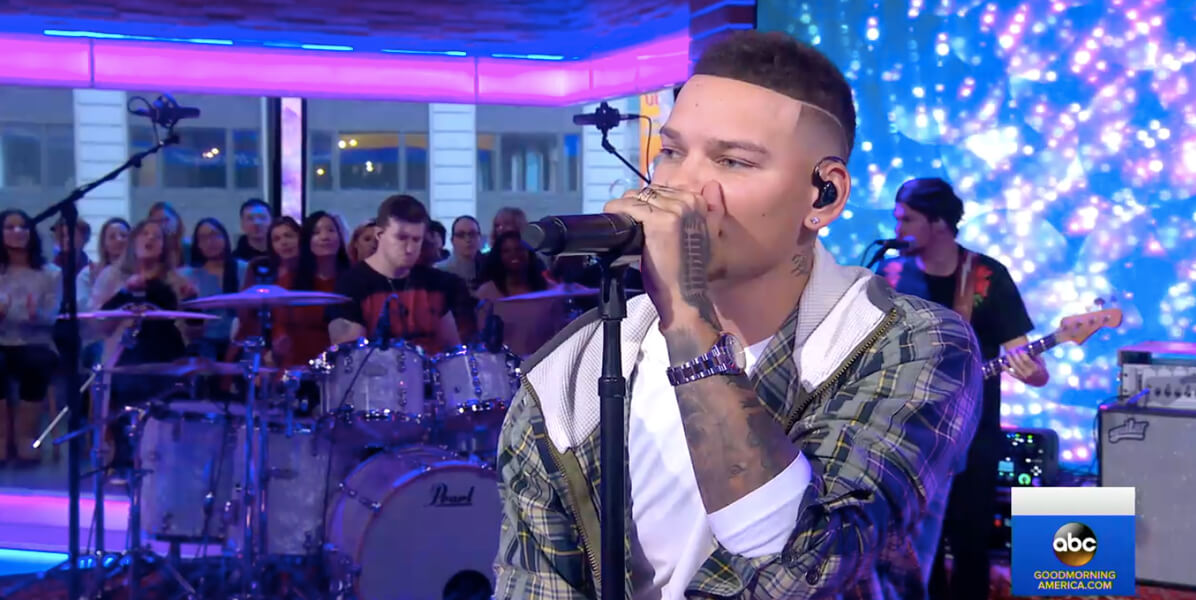 Kane Brown Good As you Good Morning America performance