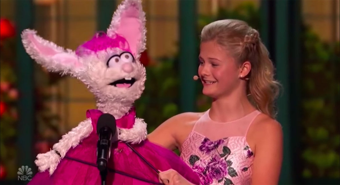 Darci Lynn America's Got Talent Opera with Petunia