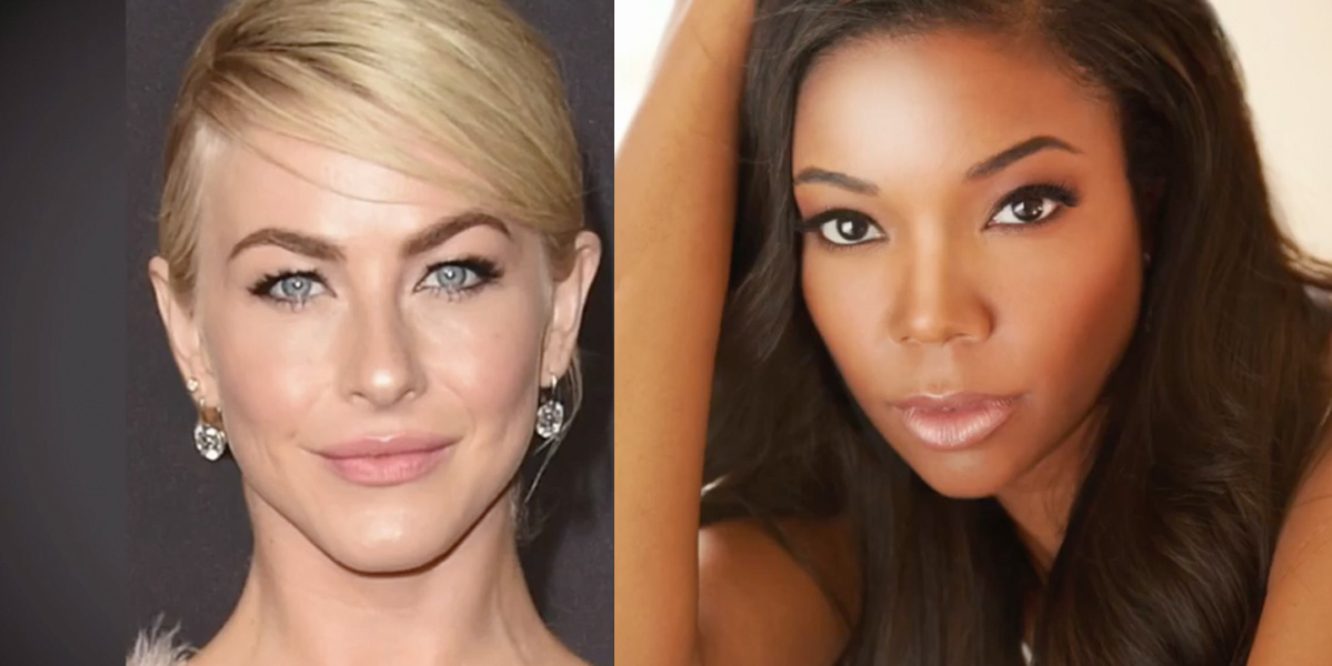 Julianne Hough Gabrielle Union new judges on America's Got Talent
