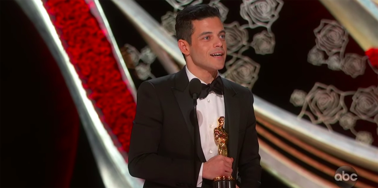 Rami Malek Acceptance Speech Best Actor Oscar