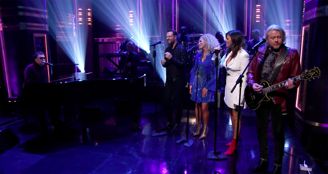 Ronnie Milsap Little Big Town Lost in the fifties on Jimmy Fallon