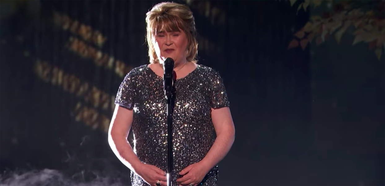 Susan Boyle America's Got Talent performs I Dreamed a Dream