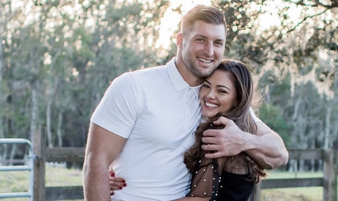Tim Tebow Got Fiancée Demi Leigh Nel Peters An Internally Flawless