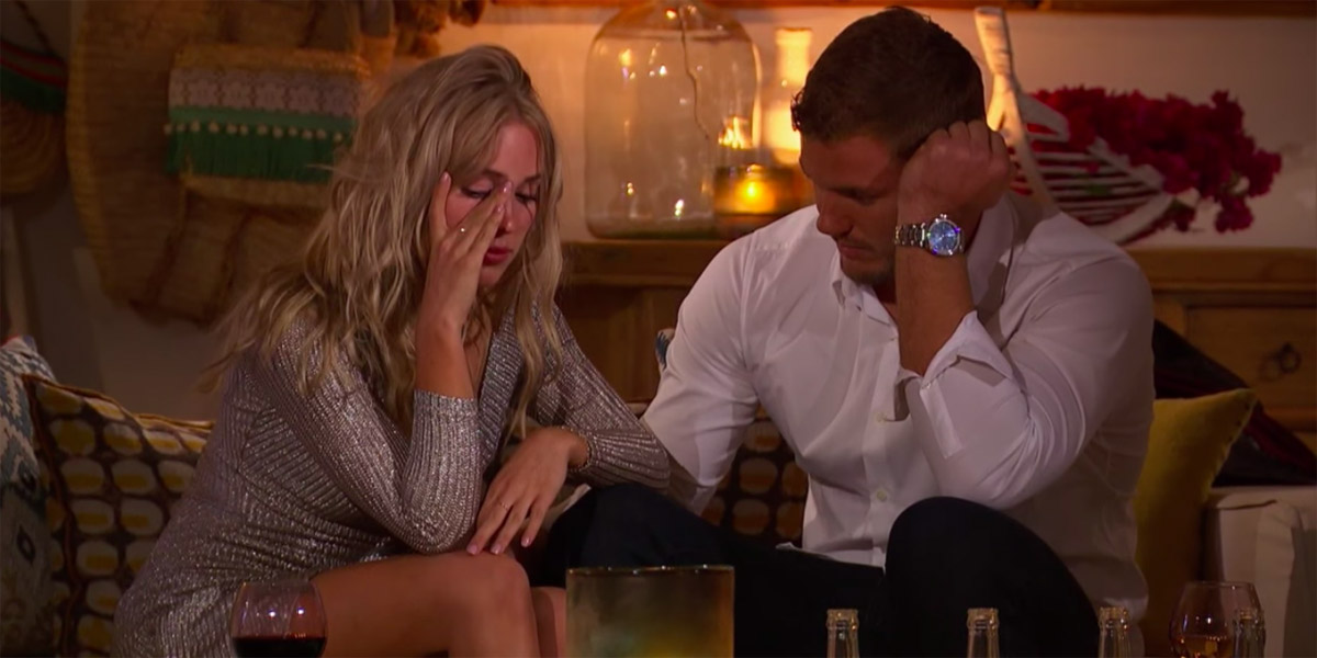 Colton Underwood Cassie Jump Fence episode of The Bachelor