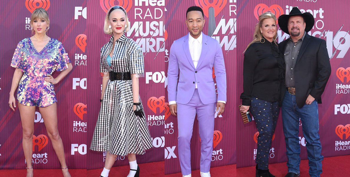 IHeartRadio Music Awards red carpet fashion