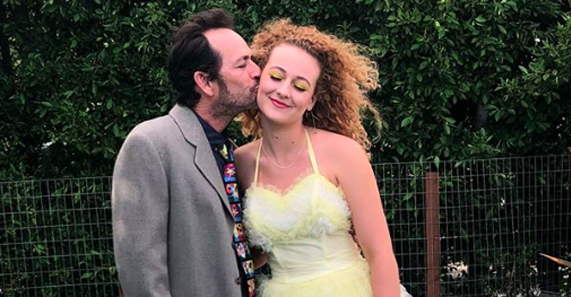 Sophie Perry Luke Perry daughter Slams haters