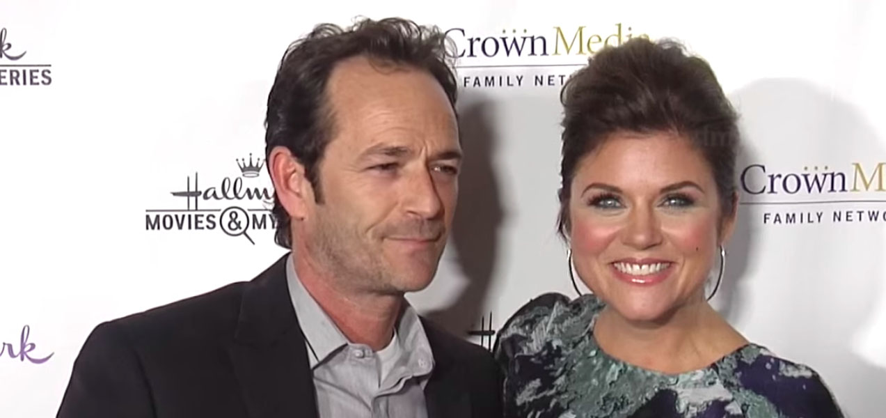 Tiffani Amber Thiessen remembers Luke Perry after death