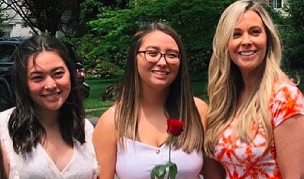 Kate Gosselin twins mady and cara graduate High School