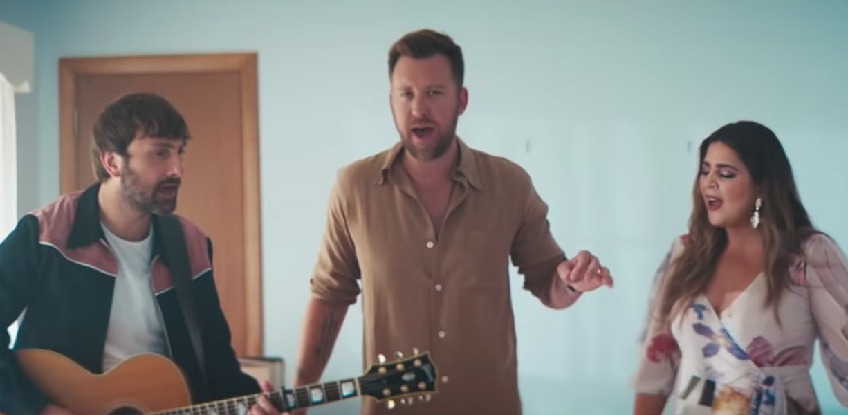 Lady Antebellum new video for What if I never get over you