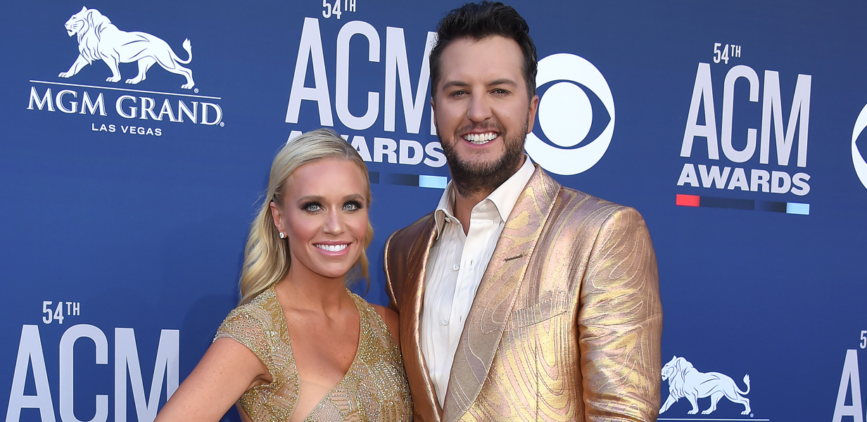 Luke Bryan wishes wife Caroline happy mother's day with photo