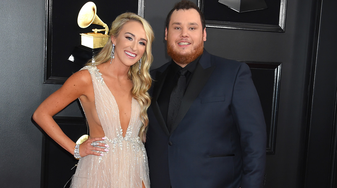 Luke Combs and fiancée Nicole Hocking adopt new puppy dog