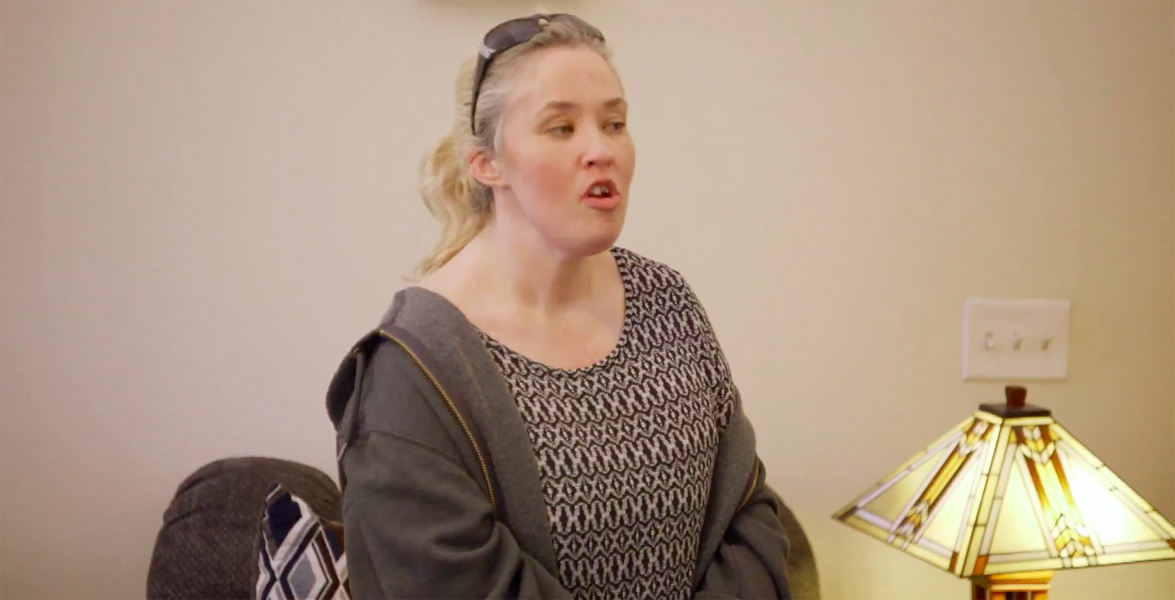 Mama June is subject to intervention from her family and honey boo boo