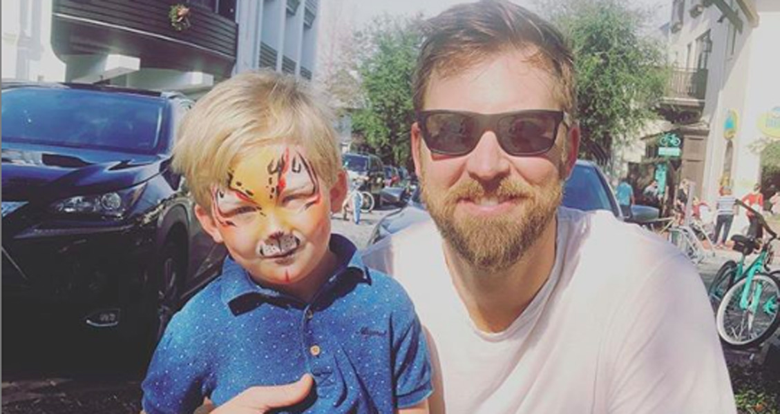 Charles Kelley of Lady Antebellum son Ward into music 2