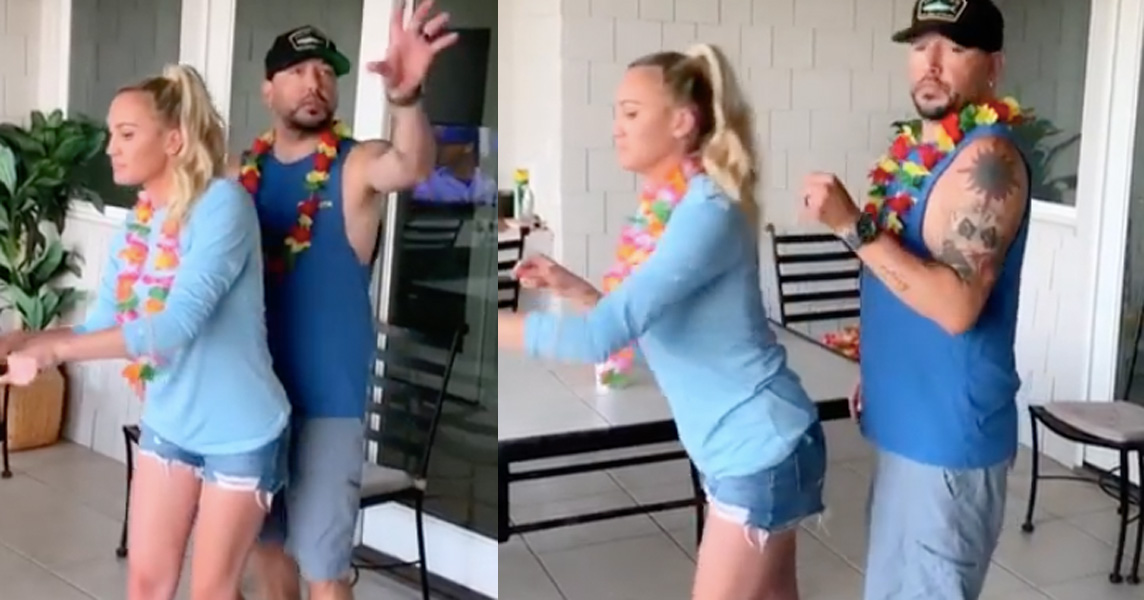 Jason Aldean and wife Brittany dance to Beyonce Survivor