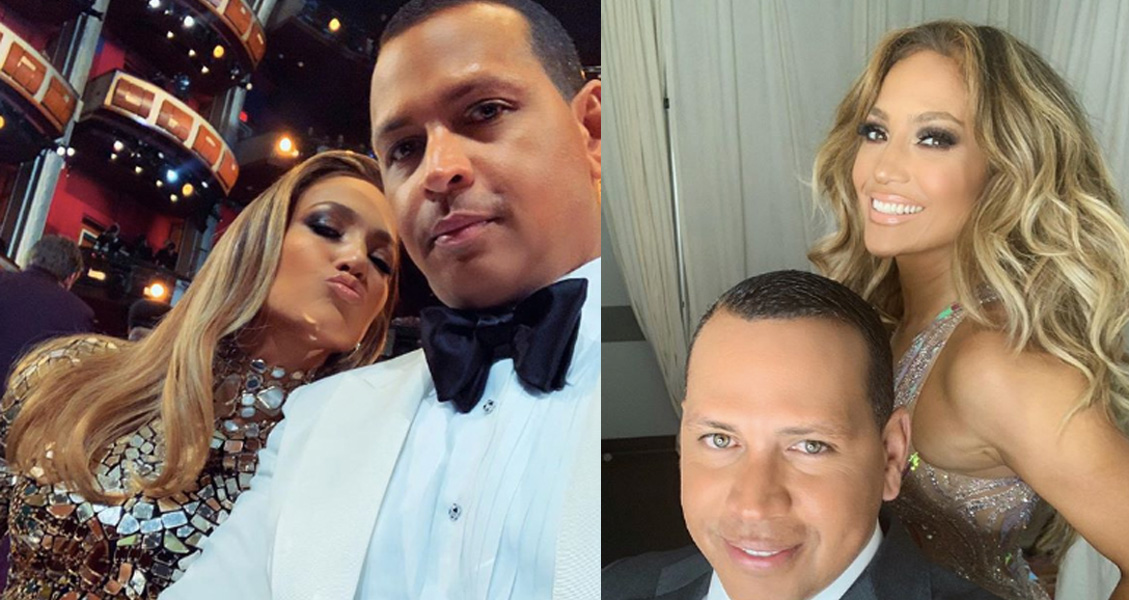 Jennifer Lopez and Alex Rodriguez 50th Birthday montage
