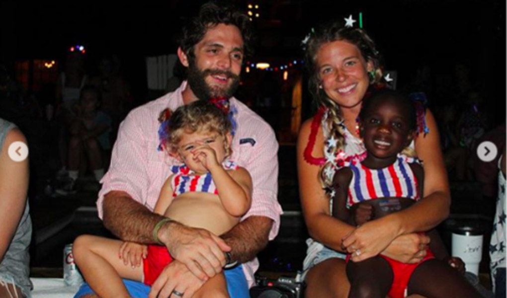 Thomas Rhett wife share fourth of july fireworks on July 4th