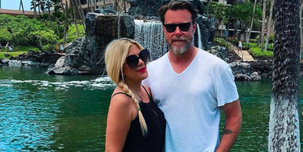 Tori Spelling Dean McDermott hospitalized for pneumonia and menangitis
