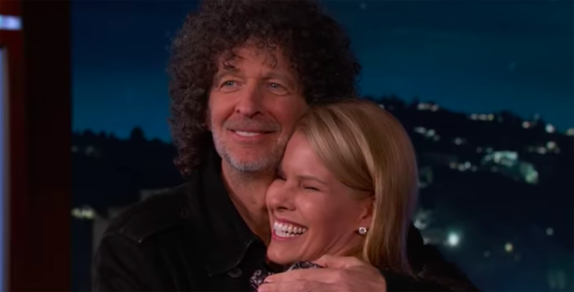 Howard Stern proposes to his wife Beth Ostrosky again on Kimmel Live