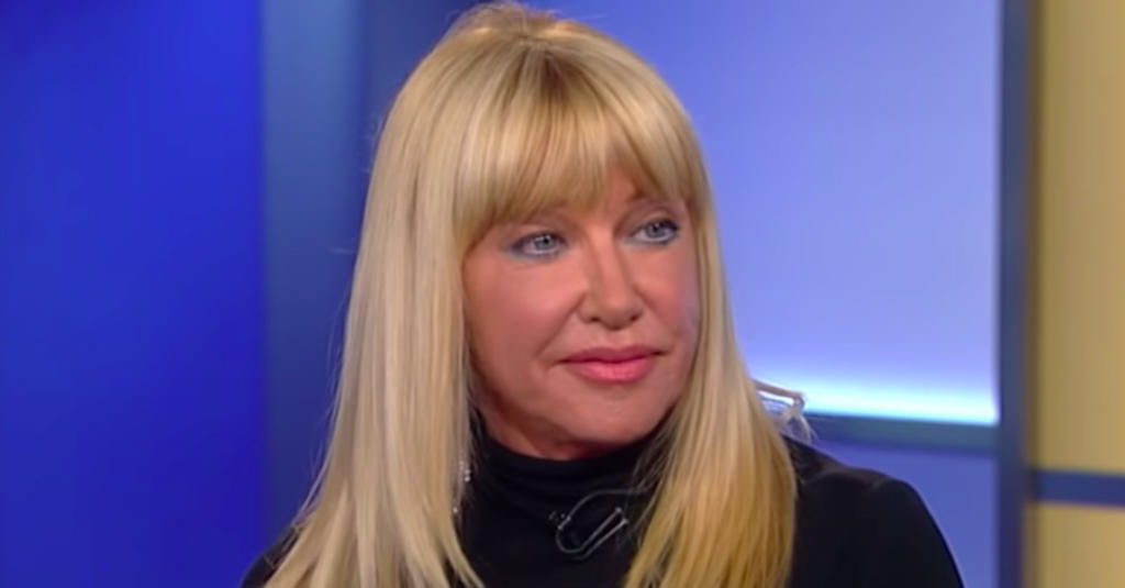 Suzanne Somers strips down to birthday suit on 73rd birthday