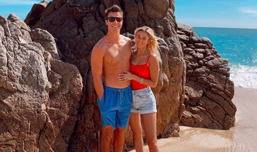 Sadie Robertson Honeymoon photos with Christian Huff