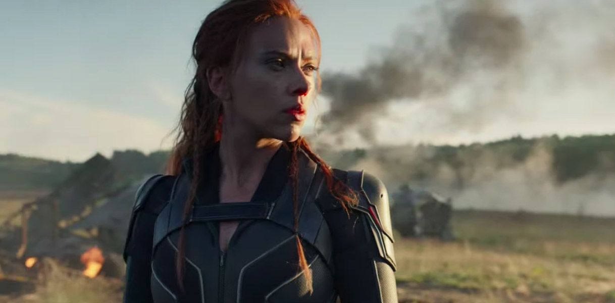 Scarlett Johansson in Black Widow Trailer for Marvel