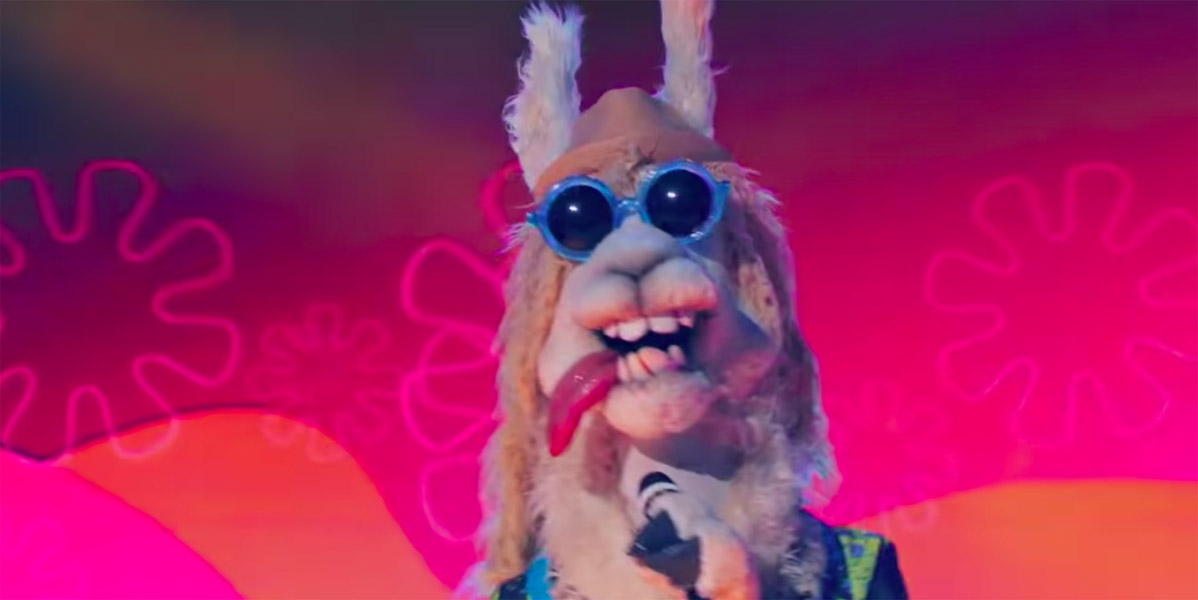 Llama revealed to be Drew Carey on The Masked Singer elimination