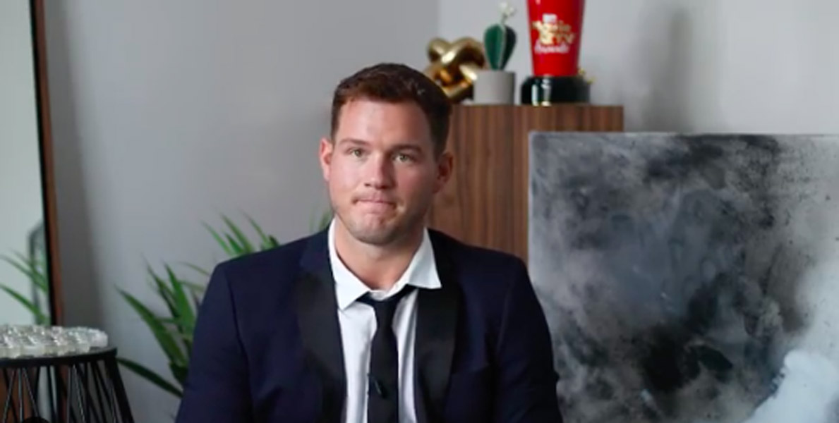 Colton Underwood admits struggle with sexuality