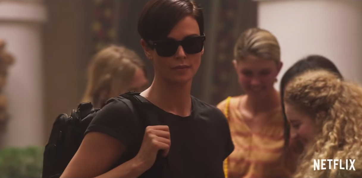 Charlize Theron movie coming to netflix in July 2020